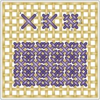 Needlepoint Stitch Guide from DMC