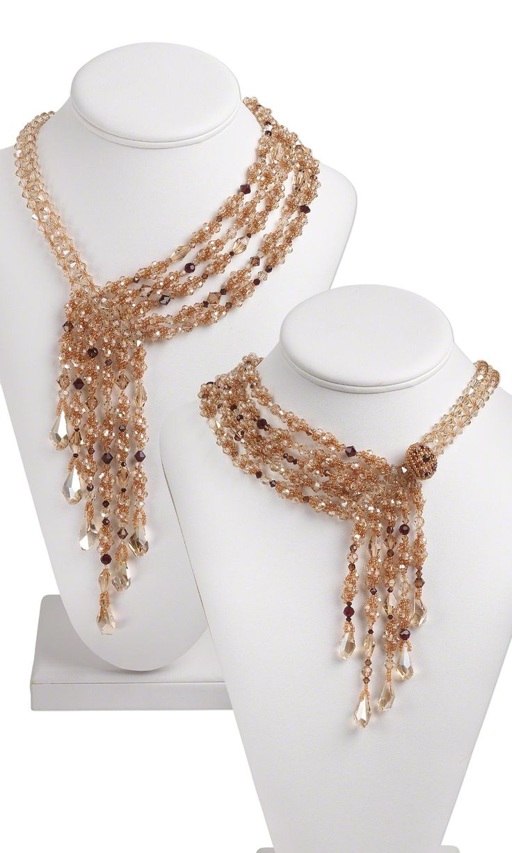 Jewelry Design Multi Strand Necklace With Swarovski