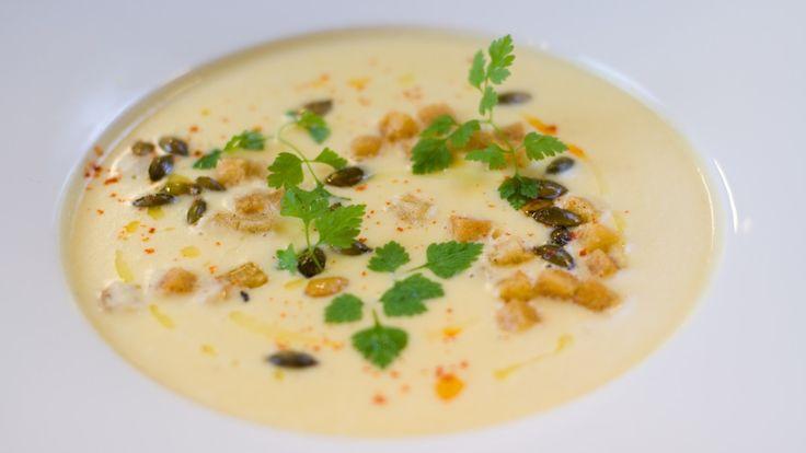 Andreas Myhrvold anbefaler melne poteter i suppen.