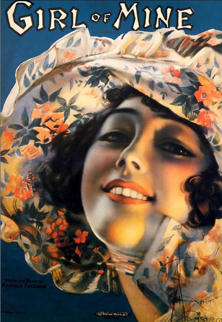 ШЛЯПКИ. Художник Рольф Армстронг (Rolf Armstrong) 1889 - 1960. Обсуждение на…