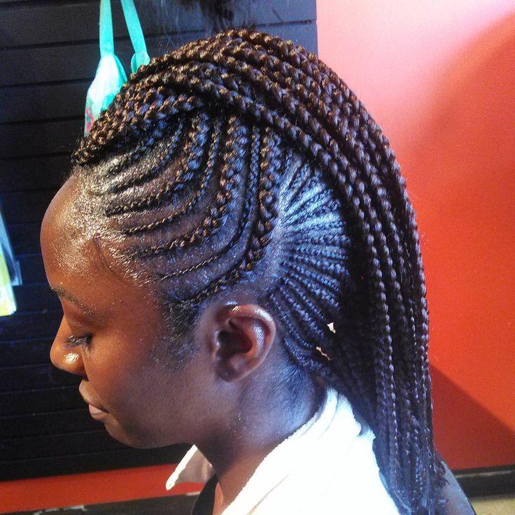 Astonishing 1000 Ideas About Braided Mohawk Hairstyles On Pinterest Mohawk Short Hairstyles Gunalazisus