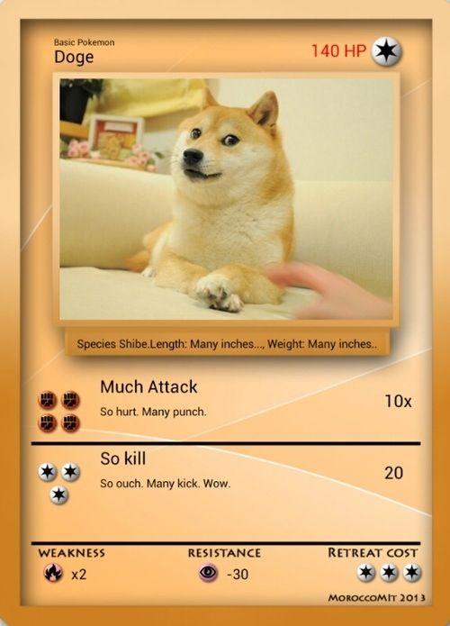 12c47ee82f8f6ae12a49d246af246401 pokemon cards memes humour 227 best doge meme dog memes images on pinterest funny pics