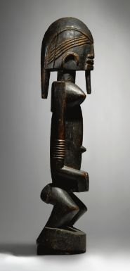 Dogon female figure, Ogol circle of artists, Mali (wood)