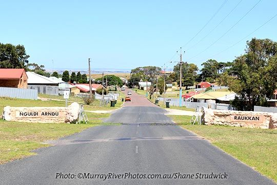 """Coorong Country - """"Raukkan is a small Aboriginal community just west of Narrung on the Lake Alexandrina."""""""