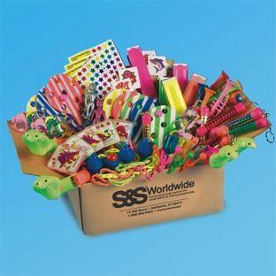 A big box of fun perfect for the classroom prize box!