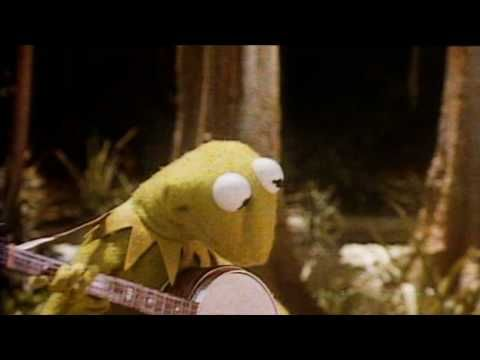 Ever wish songs just sang what was happening in the music video? Well now they do!  Kermit The Frog - Rainbow Connection (The Muppet Movie Soundtrack)