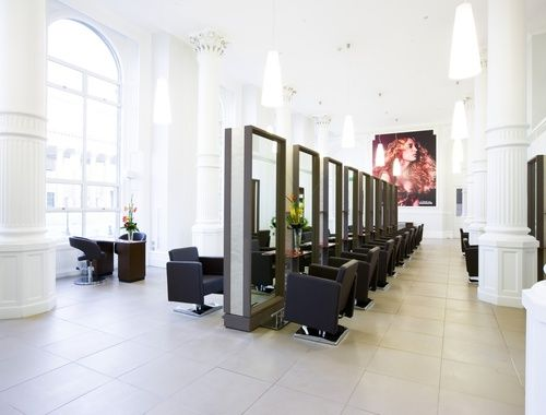 52 best images about hair saloon on pinterest beauty for Beauty salon designs for interior