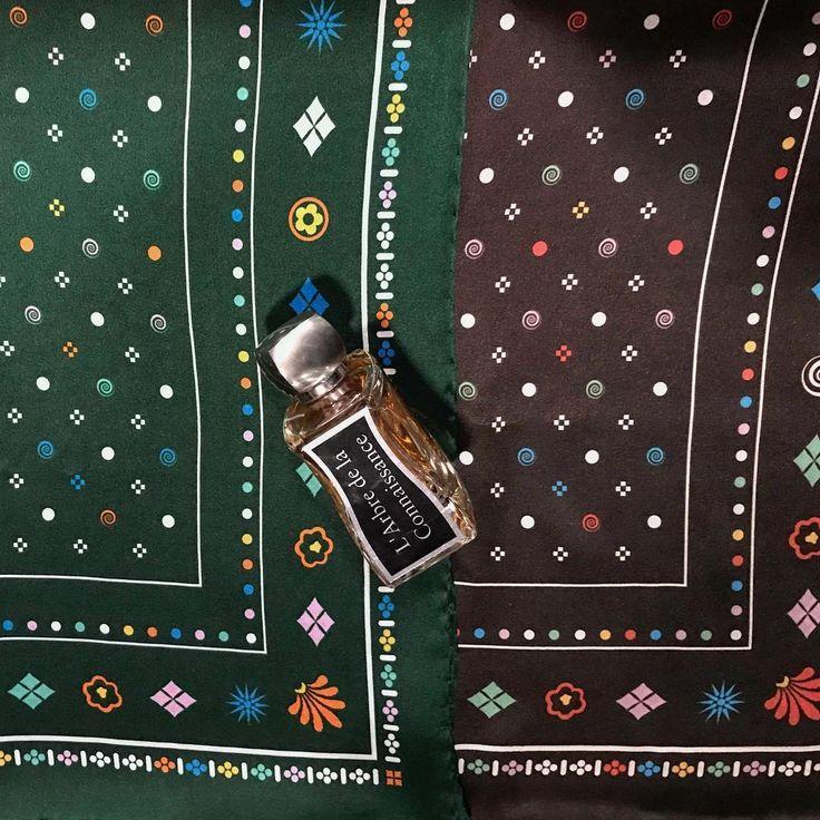 New designs #silk #scarfs 100% #greek silk  #scarf #silkscarf #perfume #jovoyparis #jovoy #lambredelaconnaissance #fig #nicheperfume #nicheperfumery #rosinaperfumery #giannitsopoulou6 #glyfada #athens #greece #shopsmallbusiness #boutique #shoppingonline : www.rosinaperfumery.com