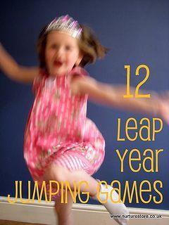Jump to it! Leap Year activities  (http://nurturestore.co.uk)