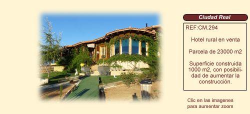 Cm294 valle de alcudia ciudad real hotel rural en venta - Casa rural planoles ...