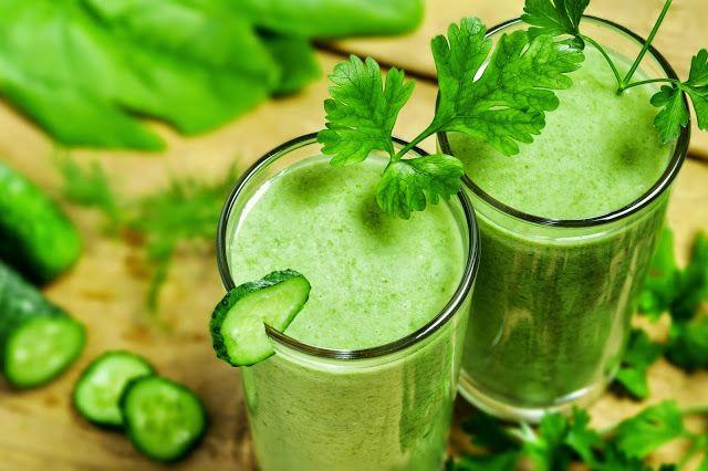 drink pietruszkowy - świetny sposób na zgubienie kilku kilogramów w tydzień.
