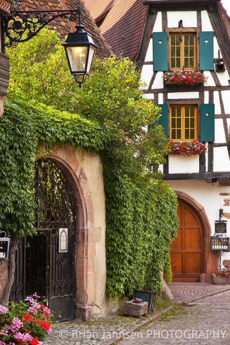 The Alsace, Keyserburg France ~ Photo by Brian Jannsen