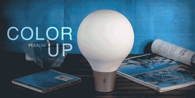 A Built-In Color Picker Lets You Tint This Lamp To Any Shade You Want