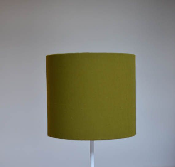 Olive home decor green lamp shade green home by ShadowbrightLamps
