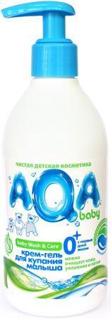 С дозатором 300 мл  — 145р. ------------------------------------ Крем-гель AQA baby для купания малыша с дозатором - это средство для купания малыша, разработанное специально для чувствительной детской кожи младенцев. С помощью мягких моющих компонентов и натуральных экстрактов очищает кожу младенца особенно нежно и бережно, увлажняя её. Флакон с дозатором обеспечивает удобное и комфортное использование во время купания малыша. АQA baby - уникальная детская косметика, разработанная на основе…