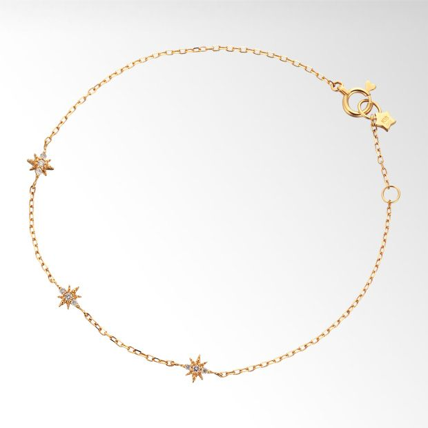 CROSSING STAR BRACELET ¥43,200(税込)