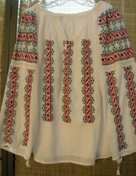 peasant blouse-romanian