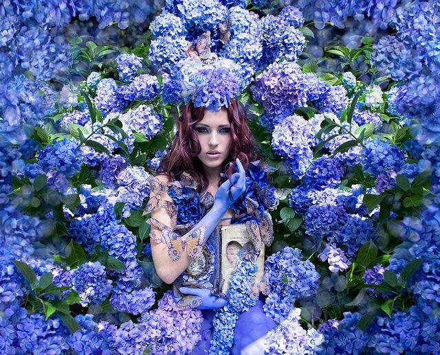 """The Secret Garden"" from the ""Wonderland"" Series   Model: Natasha Musson, Photographer: Kirsty Mitchell, 2010"