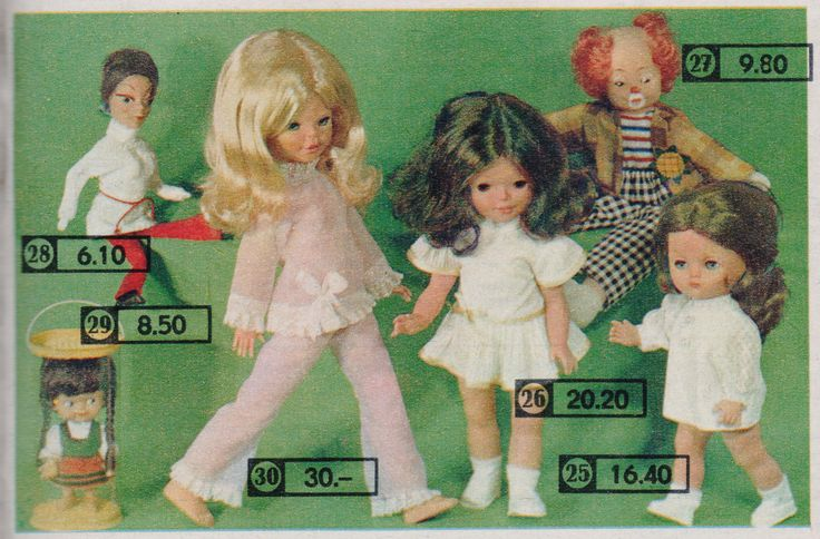 Katalog 1971 Puppen ...