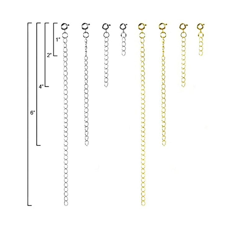 Jewelry Necklace Extender Deluxe Gift Set - 8 Pack *** Details can be found by clicking on the image.