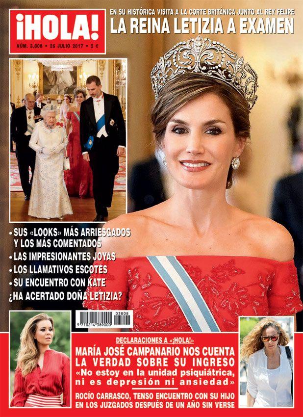 Sus 'looks' más arriesgados y los más comentados, las impresionantes joyas, los llamativos escotes, su encuentro con Kate... ¿Ha acertado doña Letizia?