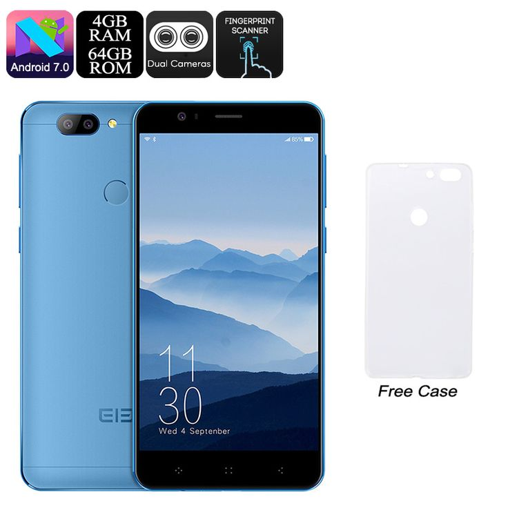 Elephone P8 Android Phone (Blue)  FAST DELIVERY 3-7 DAYS #bigpuppa #PopularGadgets #wholesaleElectronics#Watches #Mobiles #BluetoothSpeakers #MP3 #LEDlights
