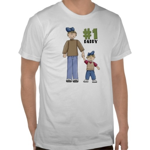 Number one, #1 #Dad #father and #boy #child #Tshirt, #numberonedad See more #gifts here http://www.zazzle.com/zazzleproducts1?rf=238228936251904937=zBookmarklet