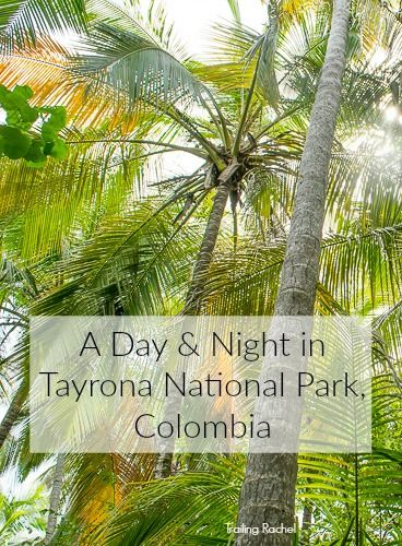 How to spend the night in Tayrona National Park, Colombia, near Santa Marta. Click to learn more about how to get the most out of your experience!