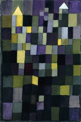 """Architecture"" painted by Paul Klee in 1923 (Staatliche Museen zu Berlin)"