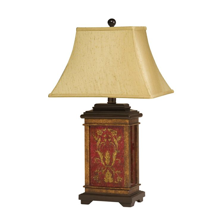 79 best mission asian table lamps images on pinterest asian chalmette table lamp 1 light shown in multi color by kichler lighting 70634 aloadofball Image collections