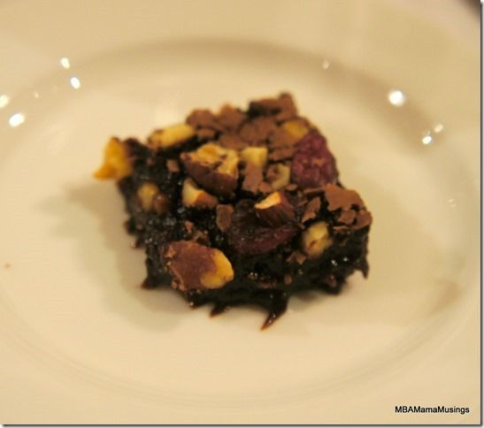 Jamie Oliver Gooey in the MIddle Festive Brownie