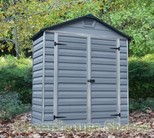 Plastic sheds for sale in many sizes for your garden. A Plastic Shed requires no maintenance. https://www.greenhousestores.co.uk/Plastic-Sheds/ #plasticgardensheds