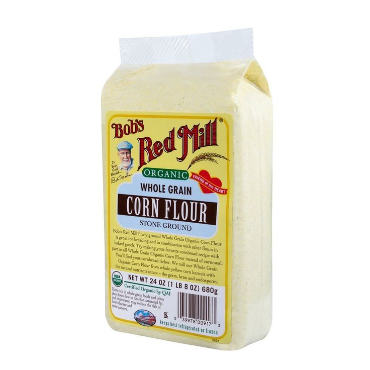 Bobs red mill organic corn flour 24ounce pack of 4