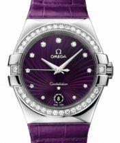 Pretty purple Omega ladies watch :)