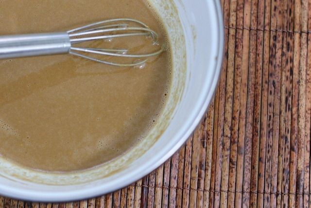 Peanut sauce and tofu marinade