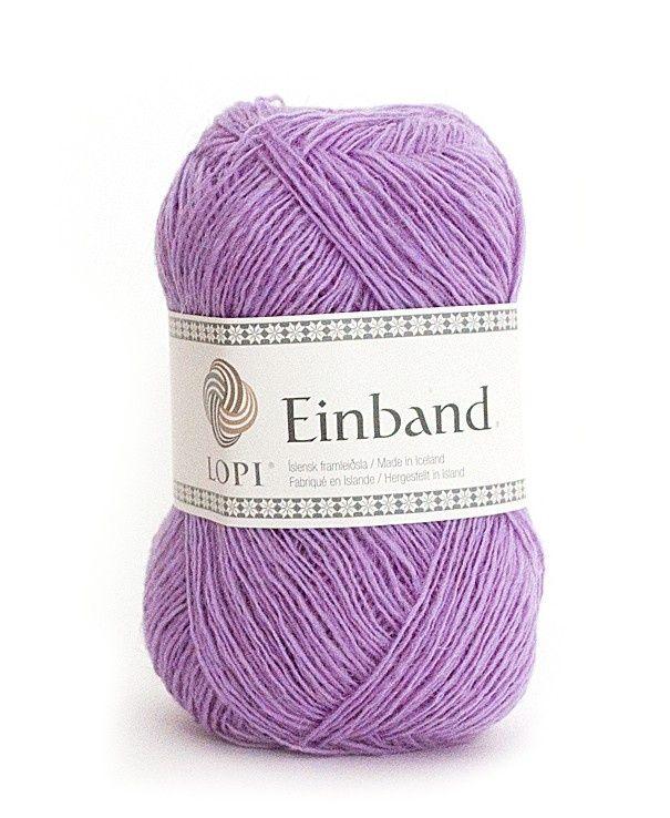 Einband bestaat uit 100%  IJslandse wol en heeft een verfijnde uitstraling door zijn dunne draad. Dit Lace garen is uiterst geschikt voor kantbreien. De bollen zijn 50 gram met een looplengte van ca. 250 meter. Verkrijgbaar in 46 kleuren. Einband