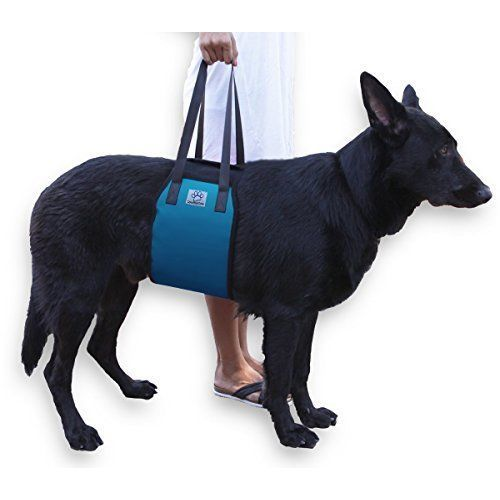 Dog Lift Support Injured Dogs Breed Assist Sling Rehabiliation Care Blue NEW #LovePetsLove
