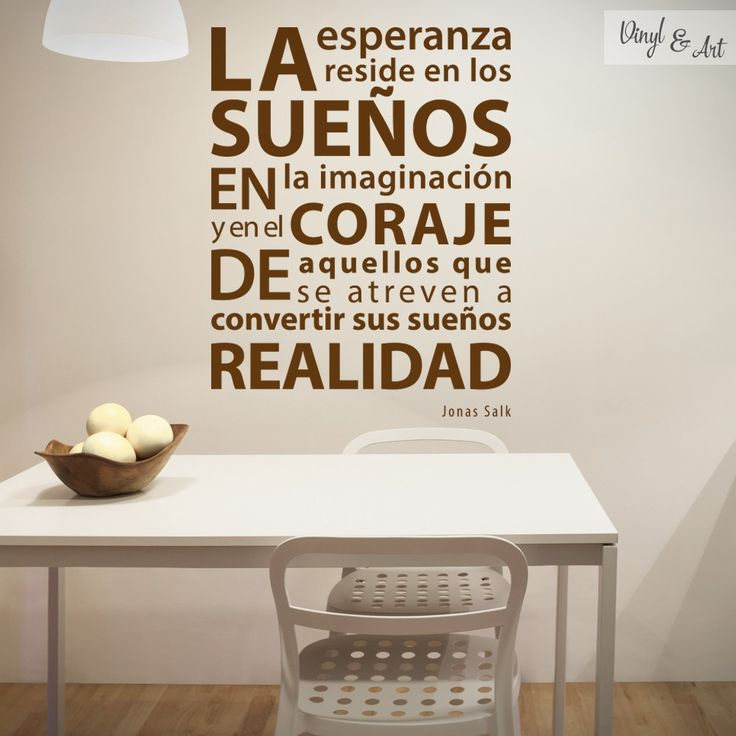 17 best images about vinilos decorativos frases on for Diseno de vinilos decorativos