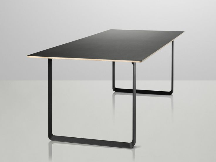 The Muuto 70/70 Table has a light and airy expression that belies its strength and durability.