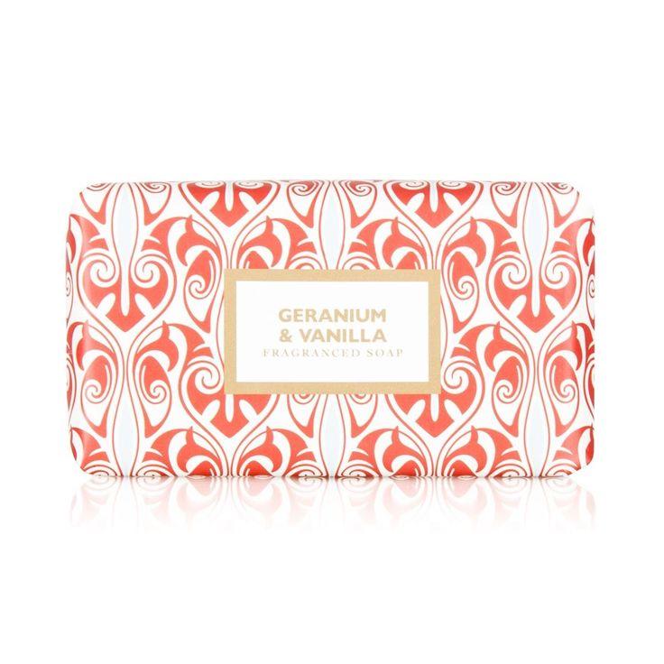 Geranium & Vanilla Soap