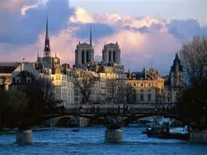 Paris and the Siene