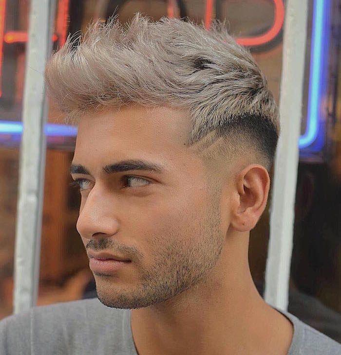32+ Coiffure homme teinture grise idees en 2021