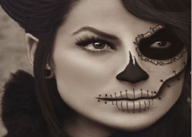 66 best Halloween make-up images on Pinterest   Costumes ...