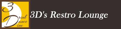 3D's Restro Lounge-logo-design http://3drestrolounge.com/