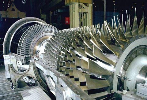 Gas Turbine Blades Gas Turbine Turbine Turbine Engine