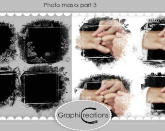 PHOTO MASKS PART 9 by GraphiCreations on Etsy
