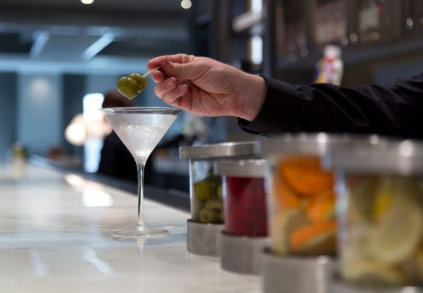 Franklin Marriott Cool Springs - Stave Regional Kitchen & lounge