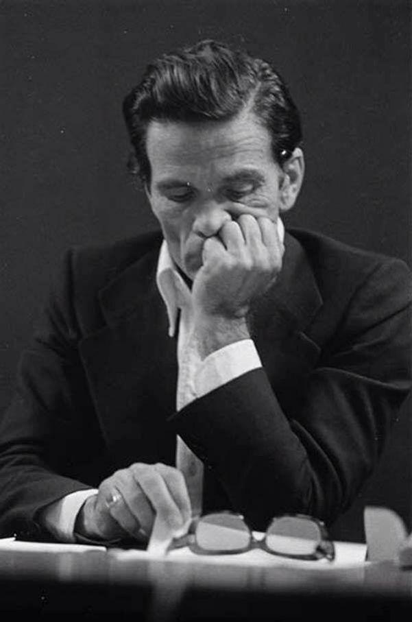 Pier Paolo Pasolini (1922-1975) - Italian film director, poet, writer and intellectual. Photo by Letizia Battaglia