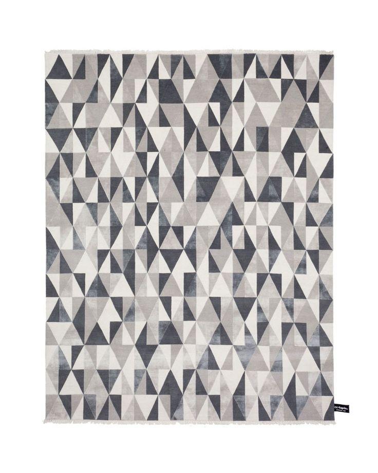 Tappeto rettangolare a motivi geometrici DIAMOND SOIE by cc-tapis ®