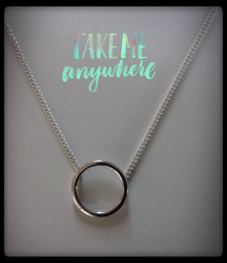 A personal favorite from my Etsy shop https://www.etsy.com/nz/listing/290994873/sterling-silver-karma-necklace